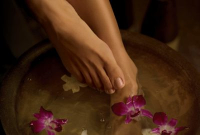 Foot care routine