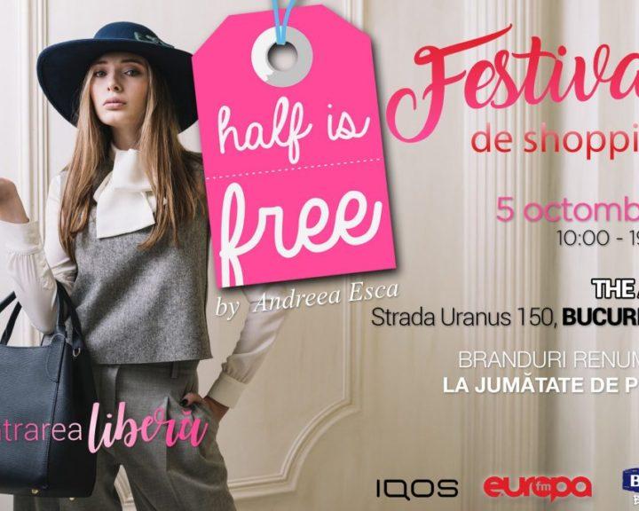 half is free