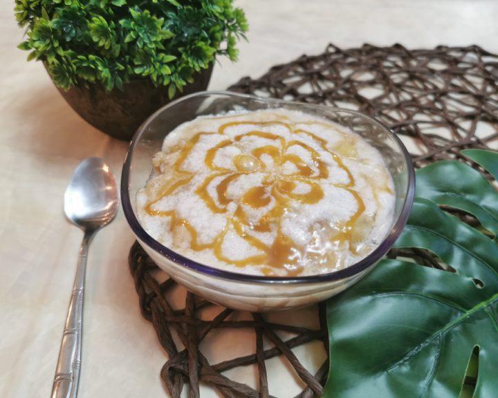 desert quinoa cu para caramelizata